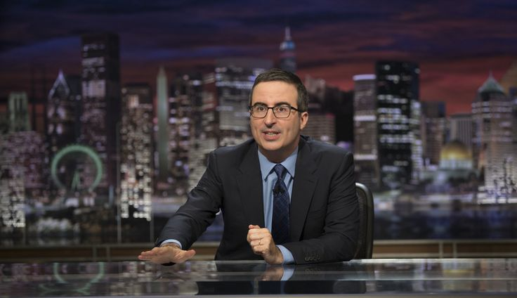 """John Oliver on Donald Trump: """"He is not normal. THIS IS NOT NORMAL."""""""