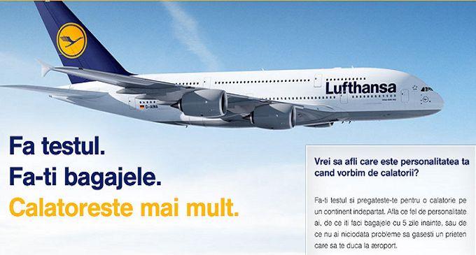 Concurs Lufthansa - castiga 2 bilete de avion | Airlines Travel