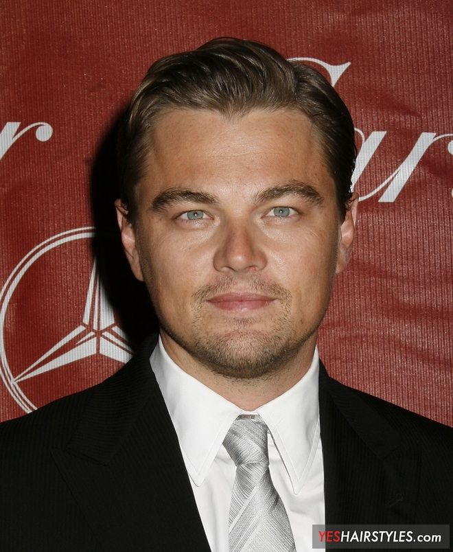 25 Professional Hairstyles For Men Business Haircuts: Leonardo DiCaprio Business Hairstyle