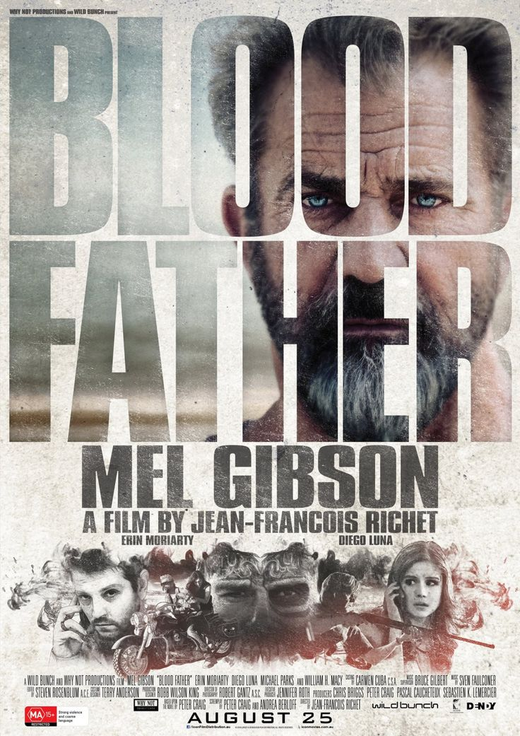 BLOOD FATHER movie review.