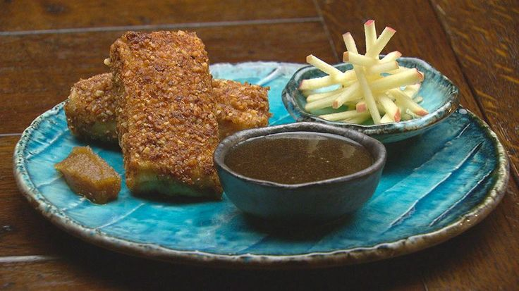 Sweet Indonesian Crepe Croquette
