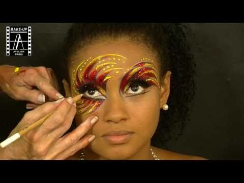 Make-Up Atelier Paris: Make Up Tutorial - Carnaval 2 - YouTube -  I am LOVING everything on this places youtube!