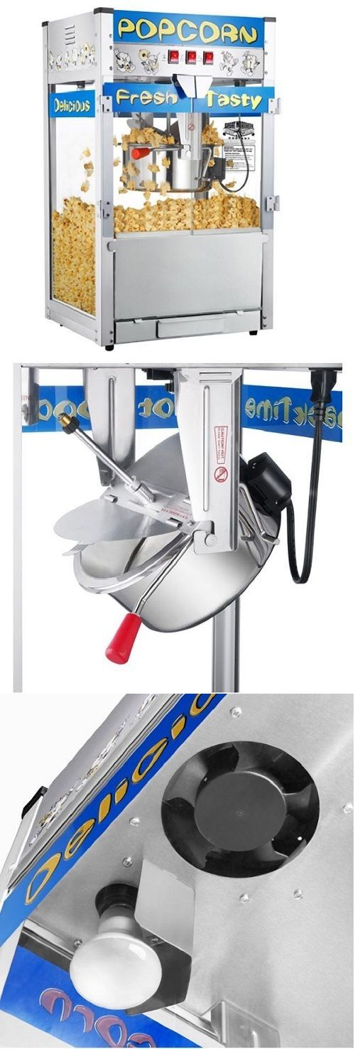 Popcorn Poppers 66752: Popcorn Machines For Sale Movie Theater Commercial Countertop Popper Maker 12 Oz -> BUY IT NOW ONLY: $347.99 on eBay!