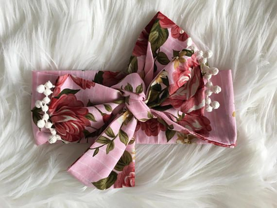 Headwrap & Bib set