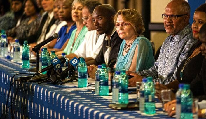 On Saturday, the Democratic Alliance gathered its new (and old) candidates at a Rosebank hotel, in order to show off their skill sets. This is the army they will take to battle. Good luck with that. By RICHARD POPLAK.