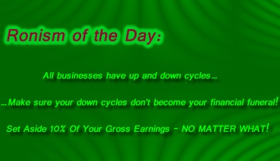 Ronism of the Day!