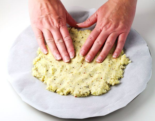 cool How To Make A Cauliflower Pizza Crust ~ This is hands down the best Cauliflower ...
