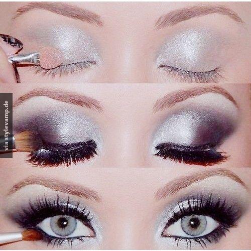 Schneekönigin Make-Up ♥