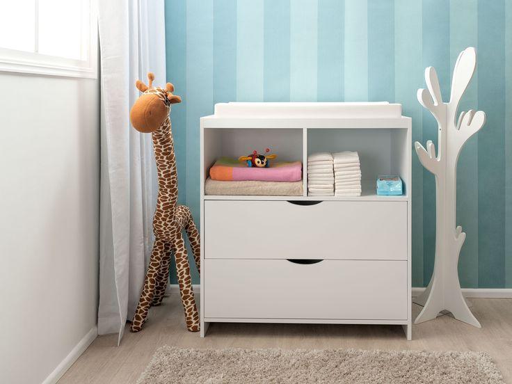 Mocka Change Table and Drawer Set   Nursery Furniture