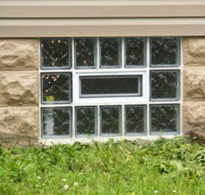 glass block windows blocks basement lansing mi columbus ohio cost