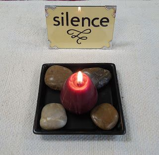 To the Lesson! | Nurturing Quiet: Montessori Silence Game - I love the child's idea of making the game a work!