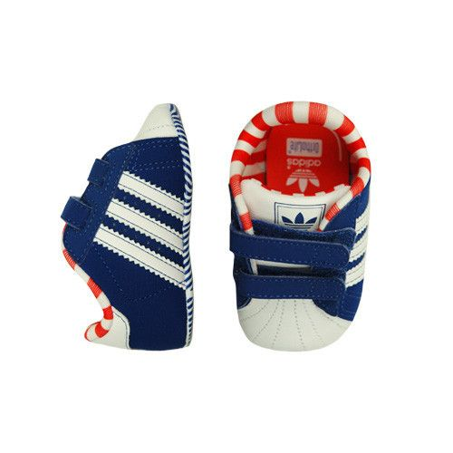 Adidas Crib Shoe - off - mini mioche - organic infant clothing and kids  clothes - made in Canada