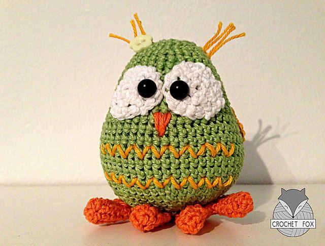 Ravelry: Tapsy the Owl pattern by Lena Crochetfox