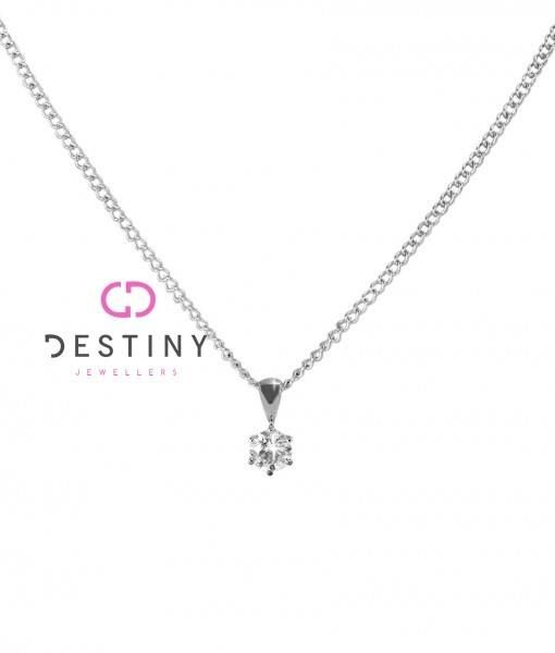 Stunning Diamond Pendant, Perfect For Everyday And That Special Occasion 'Shop Online At www.destinyjewellers.com.au OR Come Into Our Store At Shop 255, Level 2, Westfield Shopping Plaza, Penrith NSW 2750  #diamond #sparkle #jewellery #pendant #admire #spoilher #bridebook #shoponline