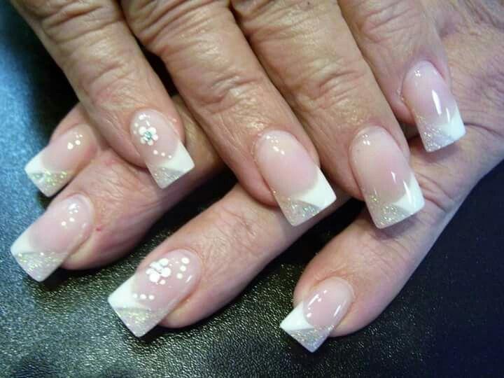 52 best Wedding Nails images on Pinterest | Wedding nails design ...