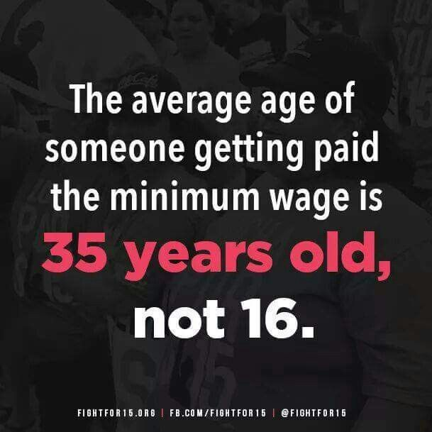 Minimum Wage = Living Wage