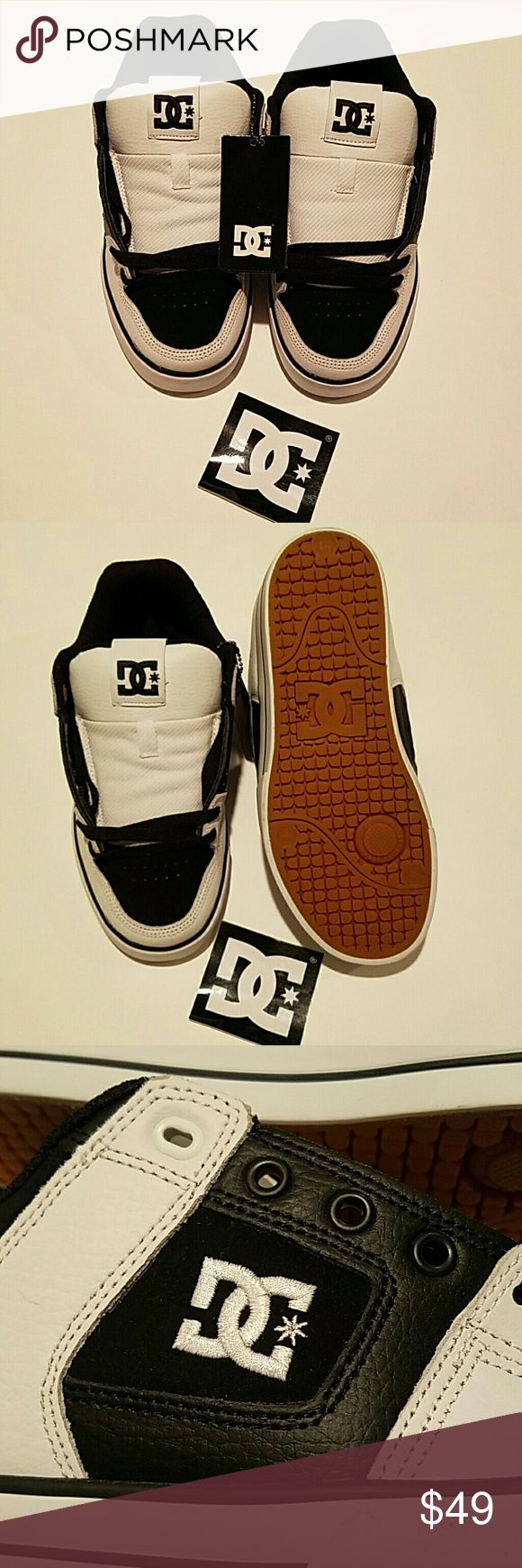 DC SKATE SHOES Men's size 5. NWT Never worn. Don't have original box, just tags. DC SHOES Shoes Sneakers