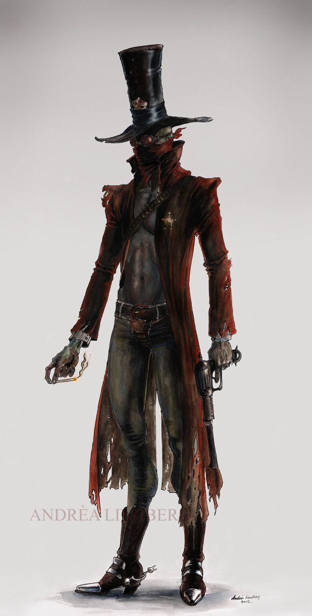 Weird West Gentleman Gunslinger