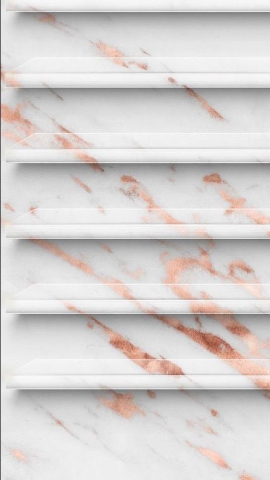 Marble Rose Gold Iphone Home Screen Wallpaper Zoom Large Icons