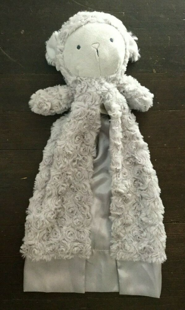 Carter/'s PRECIOUS FIRSTS Pink White Spotted Bear Lovey Rattle Blanket Clutch