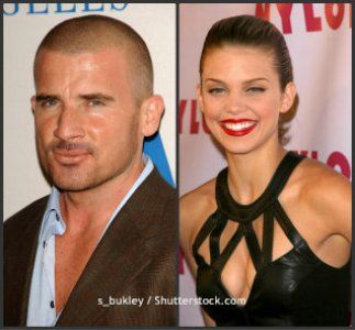 Dominic Purcell and AnnaLynne McCord, 17-Year Age Difference