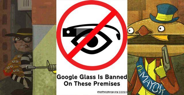 Crisis in Google glass's marketing...