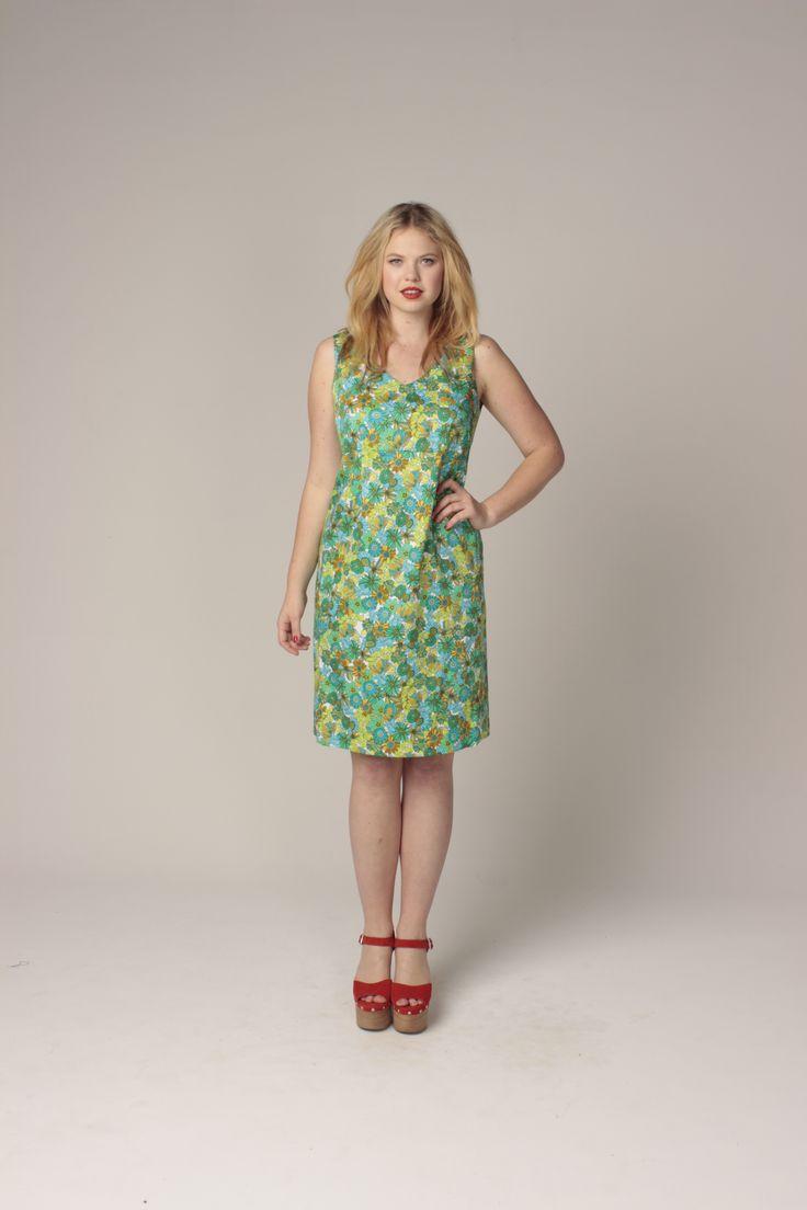 TCD spring 13 - yes dress. curvy summer fashion. size 12-24