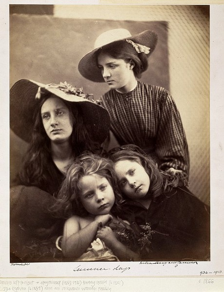 Lady Clementina Hawarden: Themes & Style - Victoria and Albert Museum