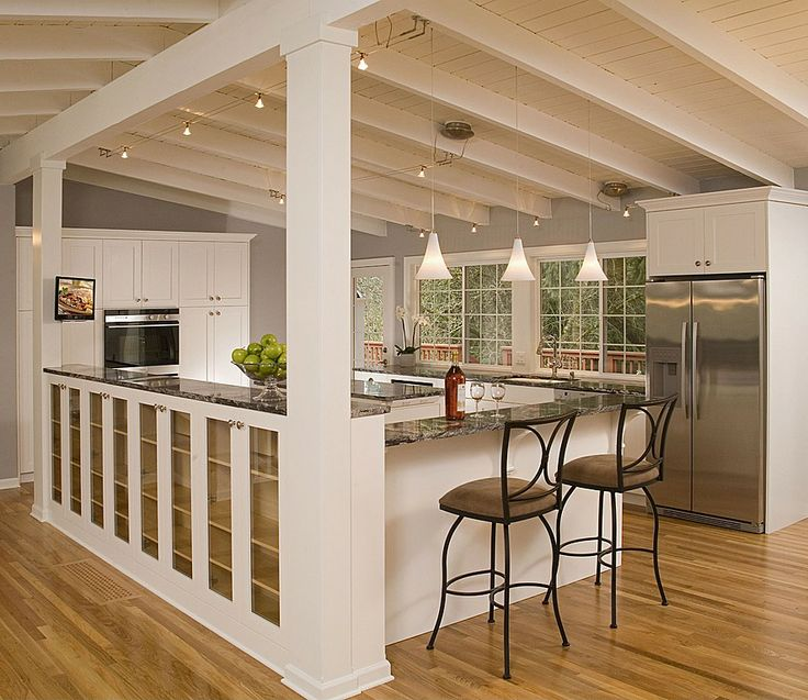 The Cape Cod Ranch Renovation Great Room Continued Kitchen: 51 Best Updating The Side-split Images On Pinterest