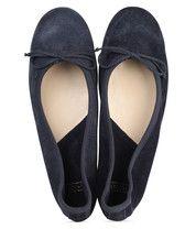 Blauwe Fred de la Bretonière  schoenen 101007D ballerina