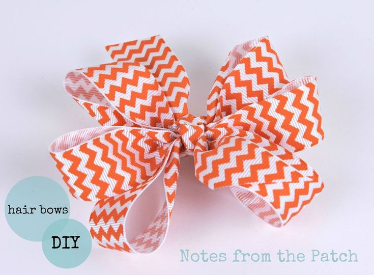Easy DIY hair bow tutorial. Make darling hair bows for a fraction of the cost of ready made bows.