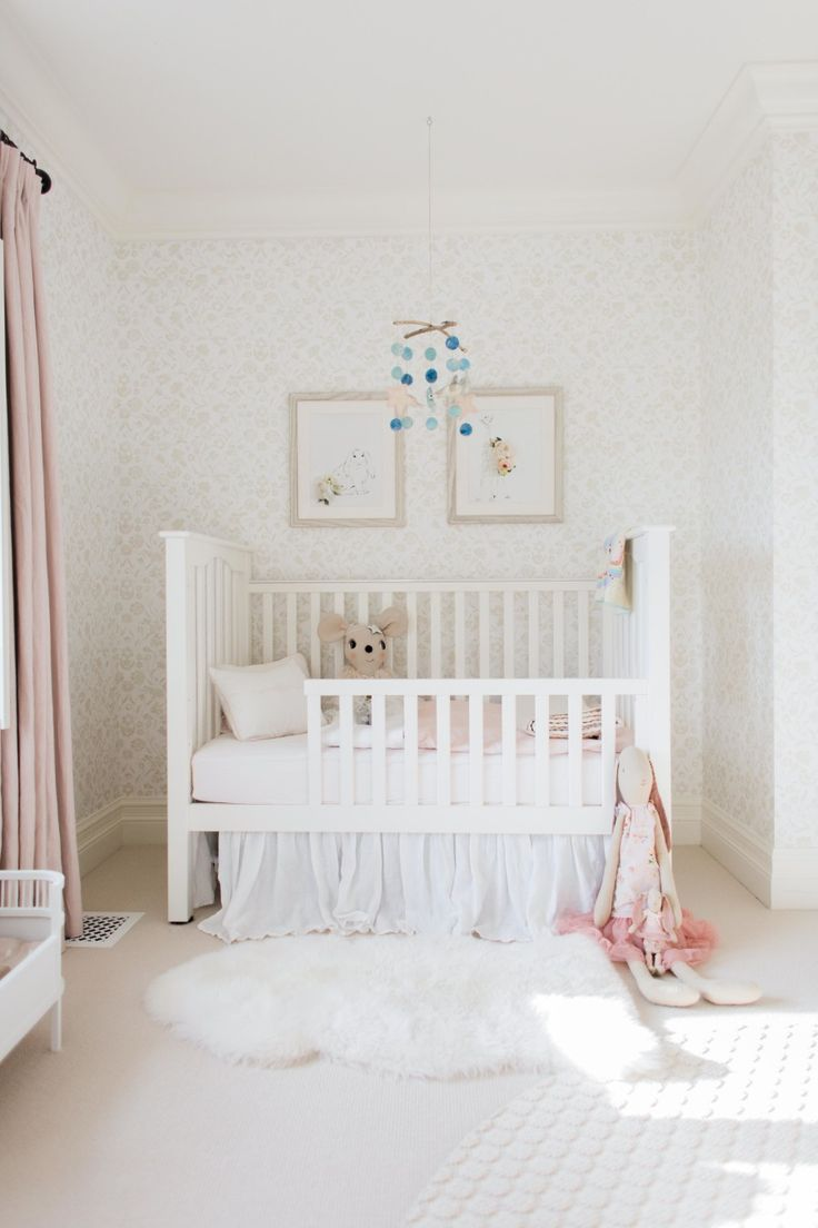Chic toddler room: Photography : Elza Photographie  Read More on SMP: http://www.stylemepretty.com/living/2017/01/27/inspiration-for-the-chicest-of-toddler-rooms/