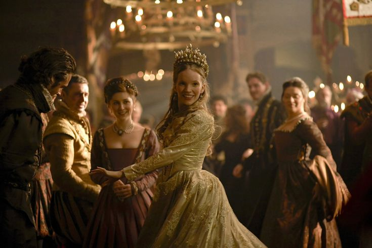 "Tamzin Merchant as Catherine Howard in ""The Tudors"", Showtime, fourth season."