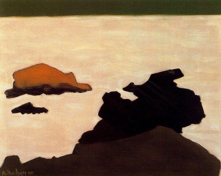 White Sea by Milton Avery (1885-1965, United States)