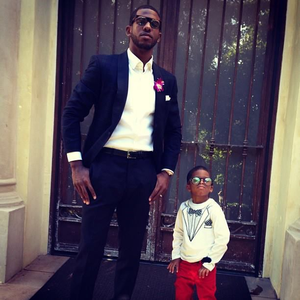 Chris Paul has got to be the coolest dad ever... and flawlessly stylish as well :)