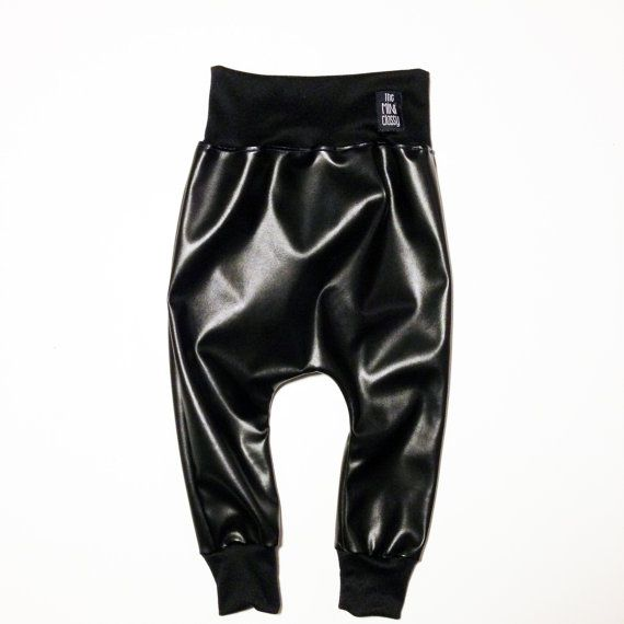 MINIlux Baby Kanye Harems with Black Waistband by theMINIclassy