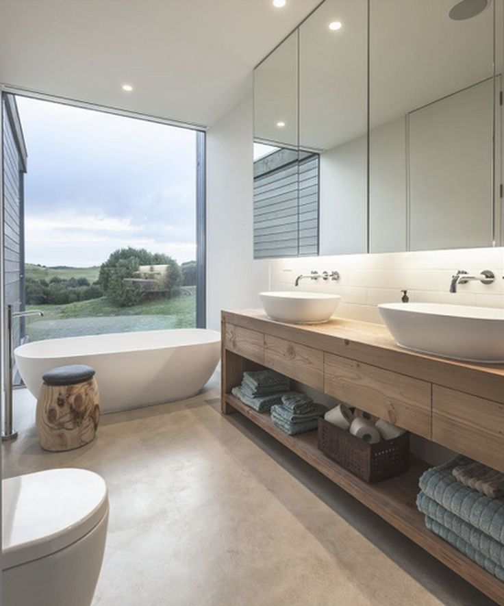 Adorable 50+ Elegant and Modern Bathroom Design Ideas https://homearchite.com/2017/06/05/50-elegant-modern-bathroom-design-ideas/