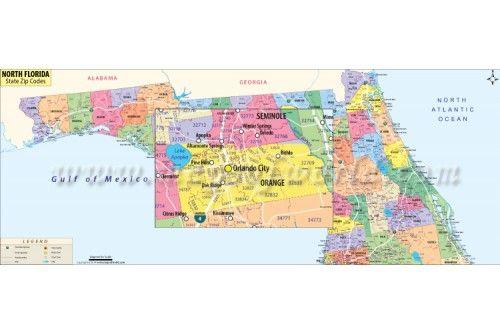 North Florida Zip Code Map Florida Zip Code Zip Code Map Map