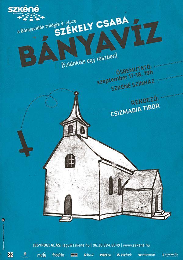 Székely Csaba: Bányaviz (trilogy) design: Anna Korolovszky