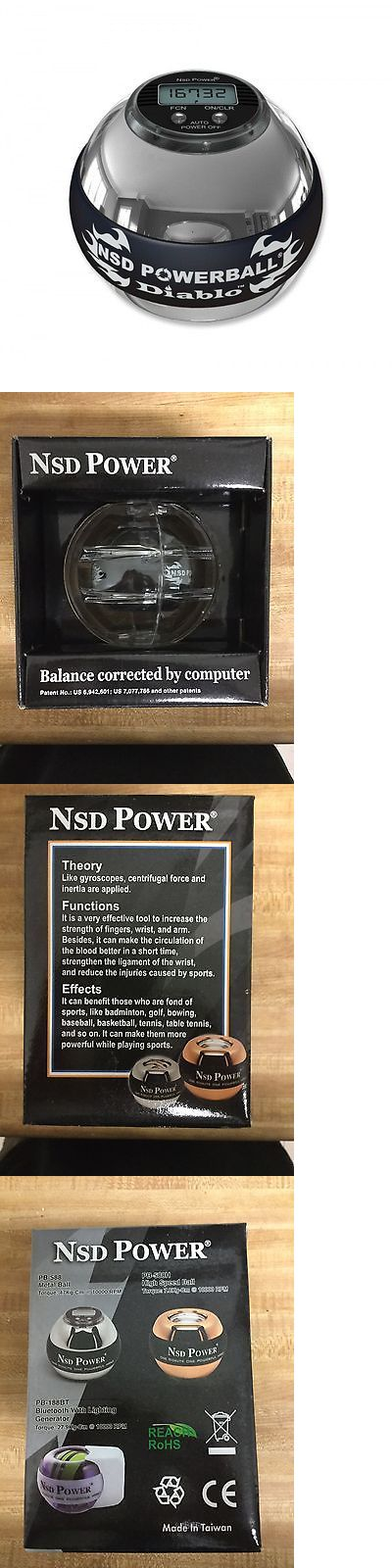 Hand Grippers 137862: Nsd Powerball Metal Diablo Pro 350Hz Silver Brand New In Box -> BUY IT NOW ONLY: $99.99 on eBay!