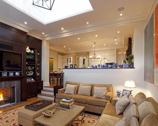 25 Best Sunken Living Room Ideas On Pinterest Made In La Wall Contemporary Indoor Furniture