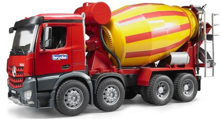 Bruder Toys MB Arocs Cement Mixer Kids Play Toy Truck