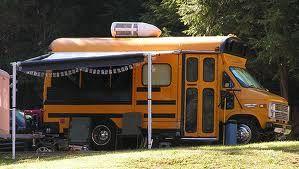 short school bus conversion ideas - Google Search