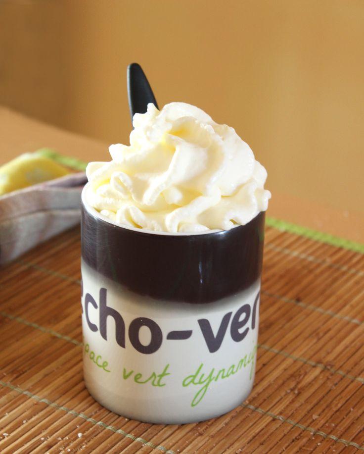 Crème chantilly maison au siphon