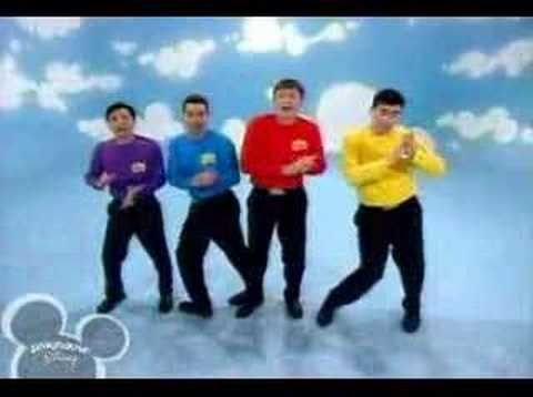 The Wiggles- Hot Potato - younger Wiggles