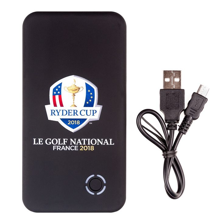 NELLCOTT - BATTERIE POWER BANK 4000MAH RYDER CUP - Achat/Vente BATTERIE POWER BANK 4000MAH RYDER CUP - NELLCOTT - Golf Plus