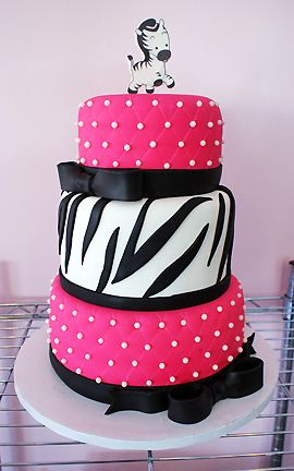 Zebra Baby | Oklahoma's Premier Wedding Cake Designer and Sugar Artist
