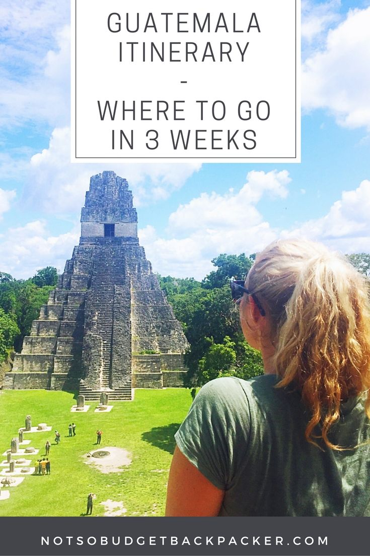 From swimming in hot waterfalls to climbing active volcanoes and the cheap prices here's my take on the best things to do in Guatemala in three weeks. // Guatemala travel beautiful paces / Guatemala travel Antigua / Guatemala itinerary / Where to go in Guatemala / Guatemala tourism / What to do in Guatemala / best places to visit in Guatemala / travel Guatemala / Guatemala travel guide / Best places to go in Guatemala / Guatemala travel tips / Best of Guatemala / where to visit in Guatemala
