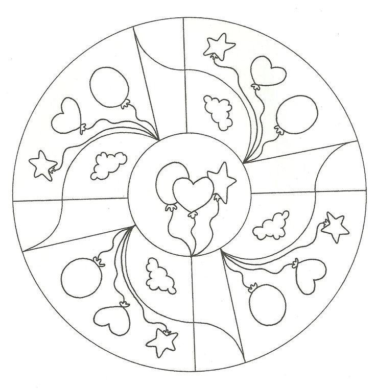 26 best BORDAR images on Pinterest Mandalas for kids, Mandala