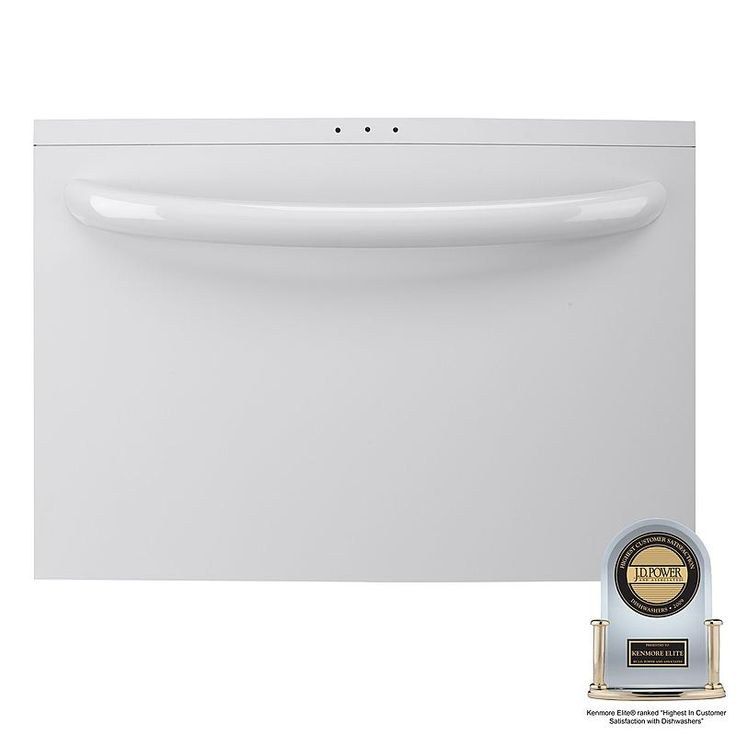 """Kenmore Elite - 13322 - 24"""" Single Drawer Dishwasher with Spin Action (1332) 
